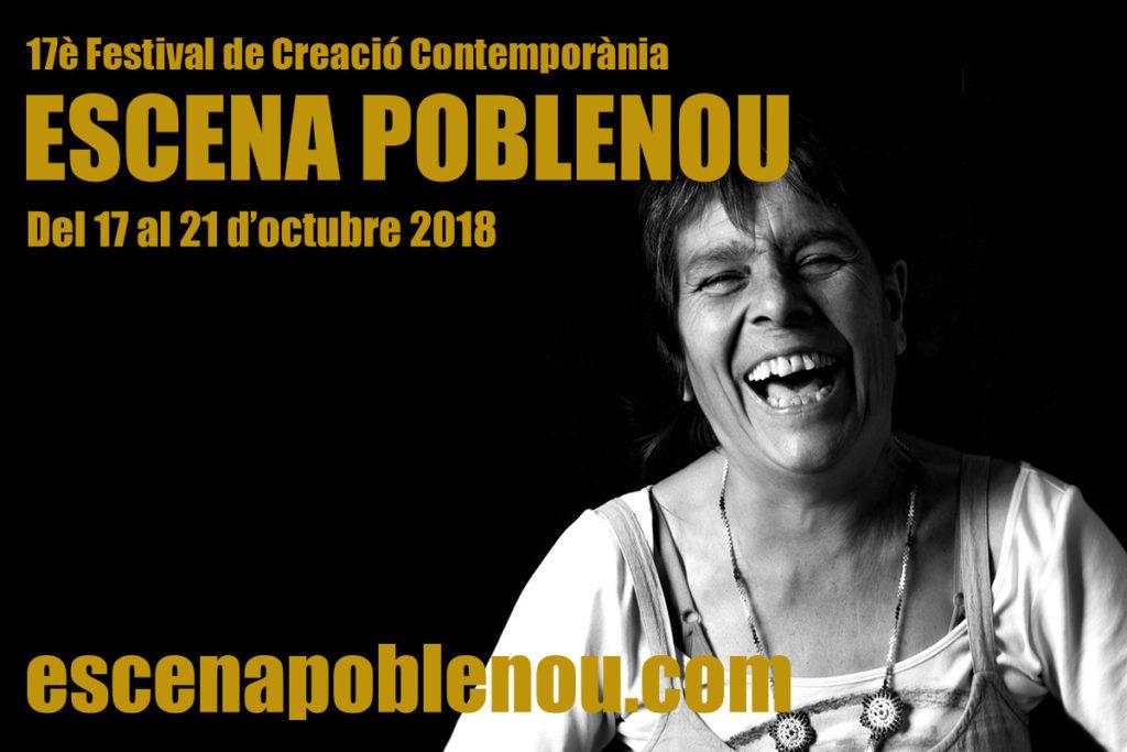 Les dones protagonistes de la imatge del Festival Escena Poblenou 2018