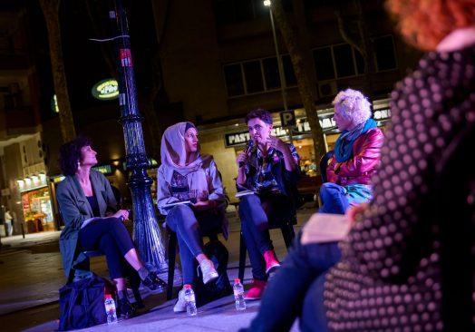 Diàleg TRAVESSANT FRONTERES AMB L'ART